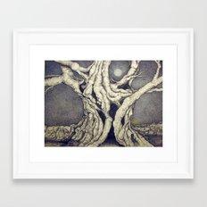 Pas de Repos Framed Art Print