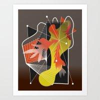Abstract Design 7752 Art Print