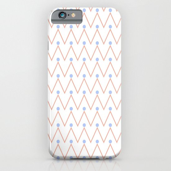 Chevron and dots 2 iPhone & iPod Case