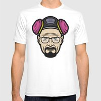 Walter White (Breaking B… Mens Fitted Tee White SMALL