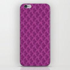 Pink rings iPhone & iPod Skin