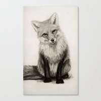 Fox Say What?! Canvas Print