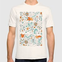 GENESIS Mens Fitted Tee Natural SMALL