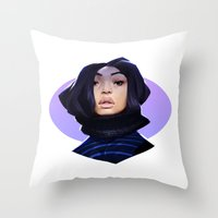 Asian Throw Pillow
