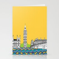 London Town Pop Art With… Stationery Cards