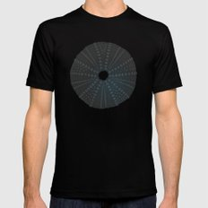 Sea's Design - Urchin Skeleton (Black) Mens Fitted Tee Black SMALL