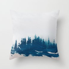 Hollowing souls Throw Pillow