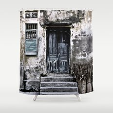 Vietnamese Facade Shower Curtain