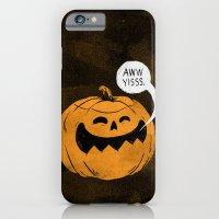 Pumpkin Season iPhone 6 Slim Case