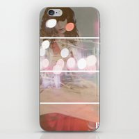Lost In Thought Woman iPhone & iPod Skin