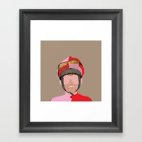 Jockey Framed Art Print