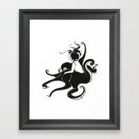 Mermaid Art: Mermaid I Framed Art Print