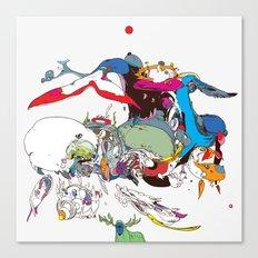 白長須 - Shironagasu Canvas Print