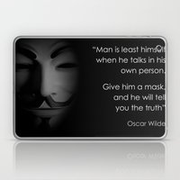 Men in a Mask Laptop & iPad Skin