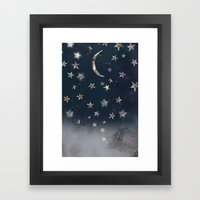 Star Gazer  Framed Art Print