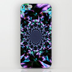 Black and Purple Kaleidoscope iPhone & iPod Skin
