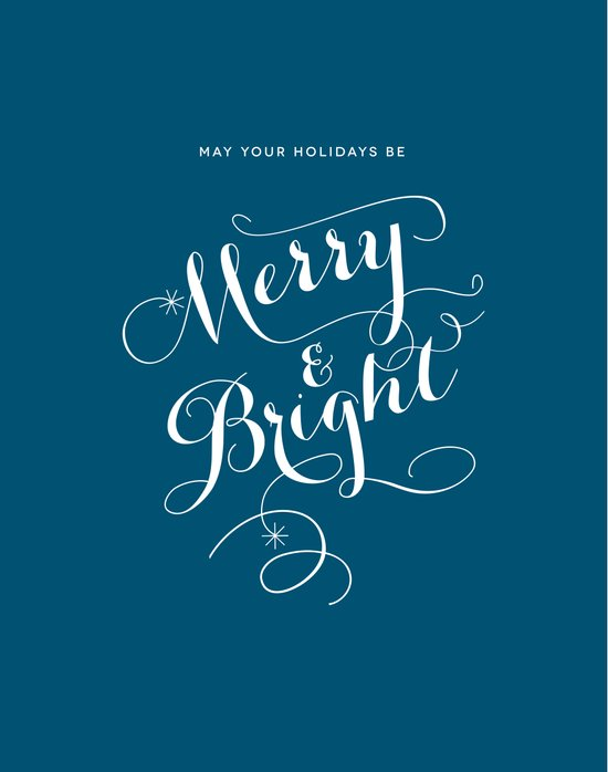 Merry & Bright Canvas Print