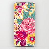 Bloomin' Beauties - Suns… iPhone & iPod Skin