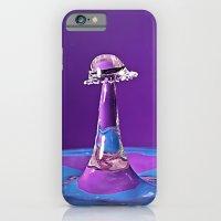 Water Drop Collision iPhone 6 Slim Case