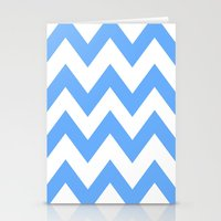 Chevron Lines  Stationery Cards