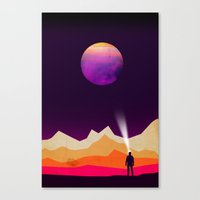 Star Gazer Canvas Print
