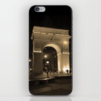 Washington Square Park iPhone & iPod Skin