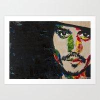 Primary Johnny Art Print