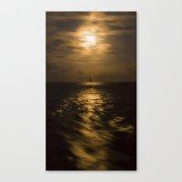 I'll Sail Away  Canvas Print