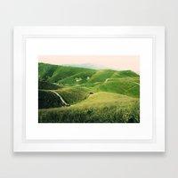 Monte Grappa, North Ital… Framed Art Print