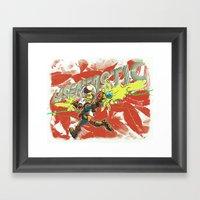 LASERTASTIC! Framed Art Print
