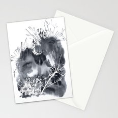 grey sky Stationery Cards