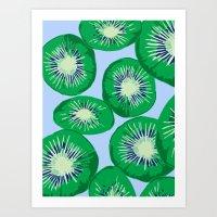 Kiwi, 2014. Art Print