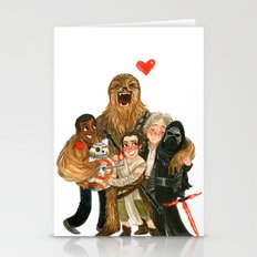 Force Awakens Hug! Stationery Cards