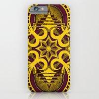 omjárah gold gallery mandala iPhone 6 Slim Case