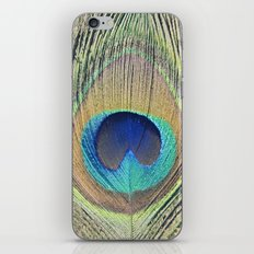 Peacock Feather No.2 iPhone & iPod Skin