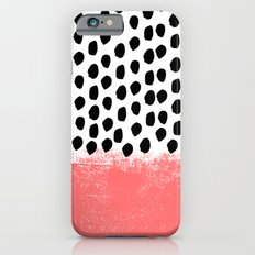 Lola - Abstract, pink, brushstroke, original, painting, trendy, girl, bold, graphic Slim Case iPhone 6s