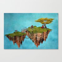 Island for Two Canvas Print