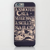iPhone & iPod Case featuring A Smooth Sea by Kyle Cobban
