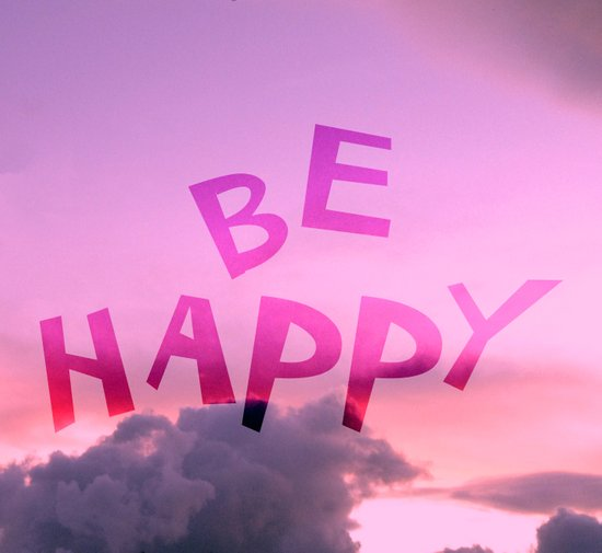 Be happy! Art Print