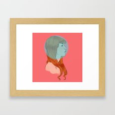 geez Framed Art Print