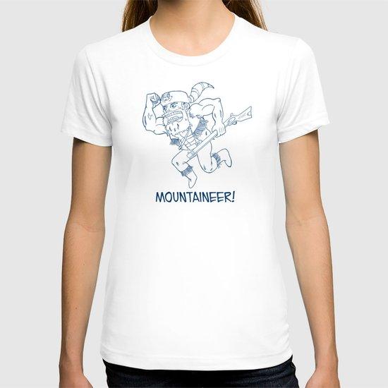 Mountaineer! (blue) T-shirt