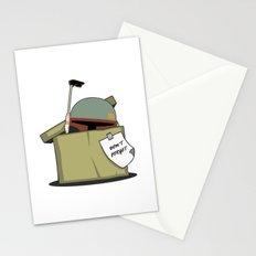 Boba Fett BOX Stationery Cards