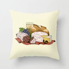 Perfect Picnic Throw Pillow