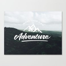 Make Your Own Adventure Canvas Print