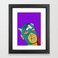 Soc! Framed Art Print