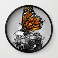 Nature Photography Wall Clock