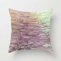 Mini square colors Throw Pillow