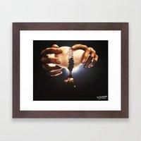 The Creation Redux Framed Art Print