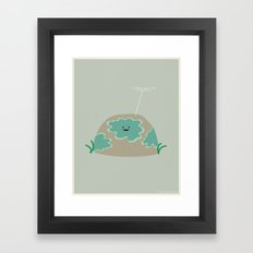 I Lichen You a Lot Framed Art Print