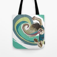 Donut try to understand (the wave) Tote Bag